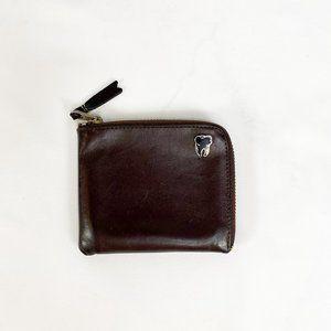 COMME DES GARCONS Classic Wallet Dark Brown